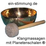 Klangmassagen mit Planetenschalen®